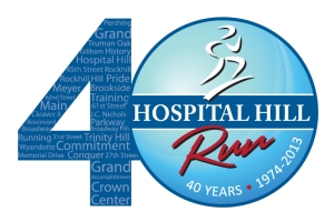 2013 Hospital Hill Run Logo Final